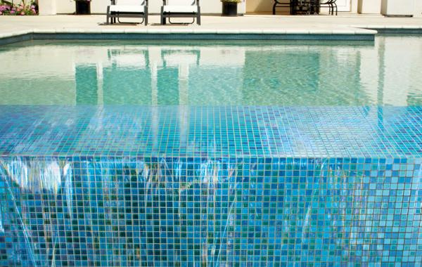 Piscina gresite blanco construccin piscinas gresite - Gresite piscinas colores ...