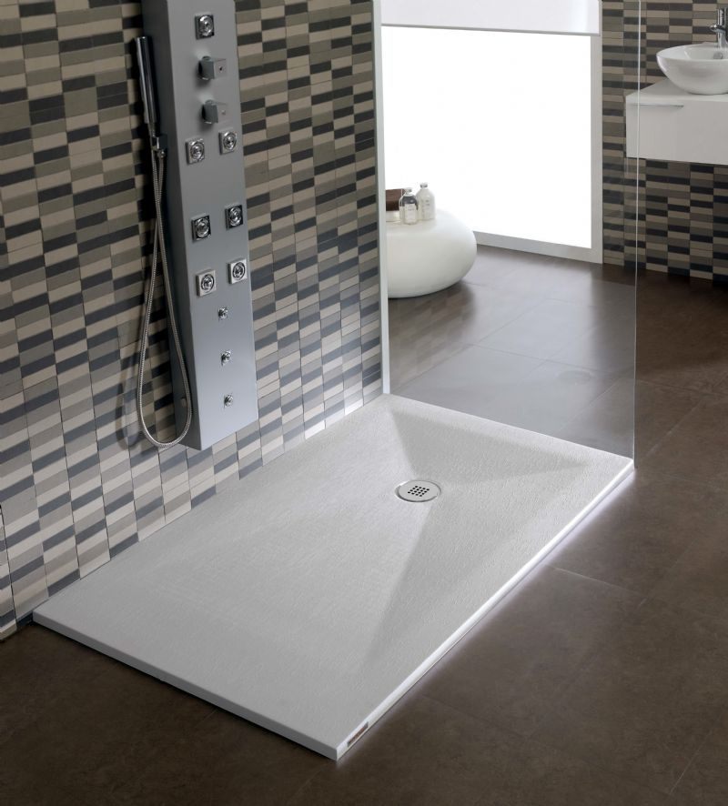 Platos de ducha resina tino jornet - Como instalar un plato de ducha acrilico ...