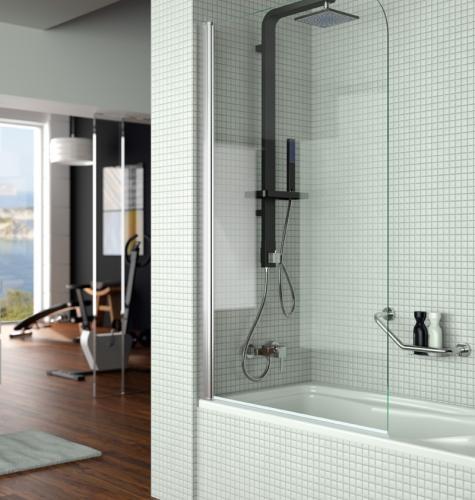 Como colocar una mampara de ducha fija latest panel ducha urban with como colocar una mampara - Instalar una mampara de ducha ...