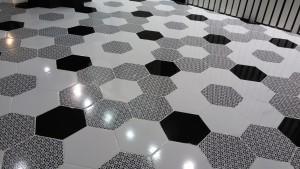 novedades azulejo hexagonal