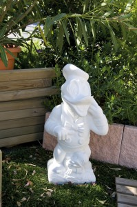 figura jardín