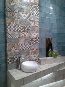 baño rústico vintage